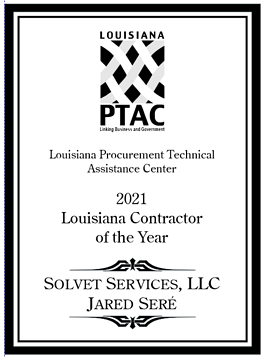 LA PTAC Contractor of the Year Solvet